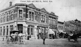 Mill-South Street Intersection 1870